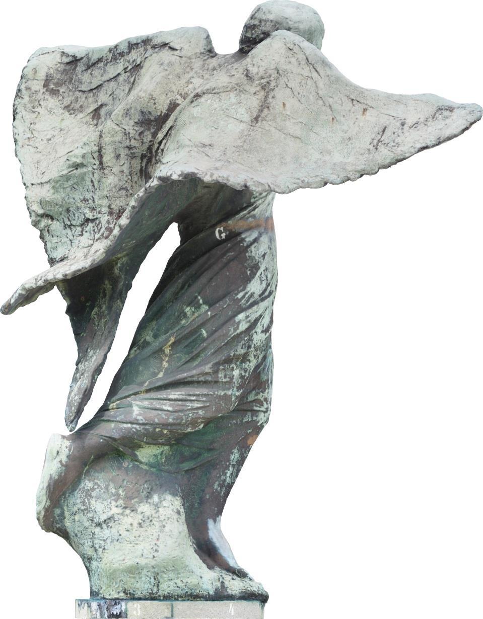 Escultura Alegoria da Vitoria Urca Posterior